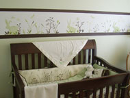 Nursery Murals | Bunnies Galore