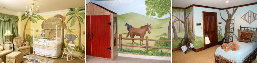 Mural painting ck paints custom hand painted murals for Commercial mural painting