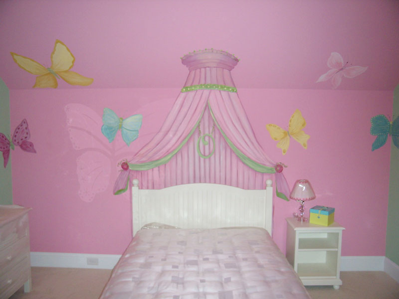 Nursery Murals | Fit for a Princess